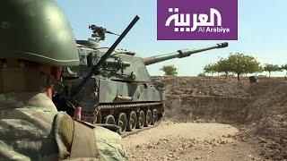 القوات التركية تشن هجوما عنيفا على رأس العين