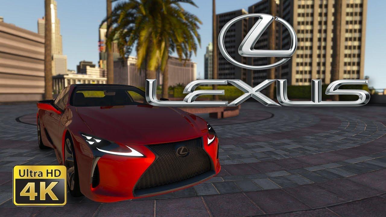 2018 Lexus LC 500 - (GTA 5) - [Live Wallpaper] - YouTube