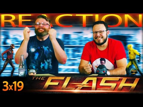 """The Flash 3x19 REACTION!! """"The Once and Future Flash"""""""
