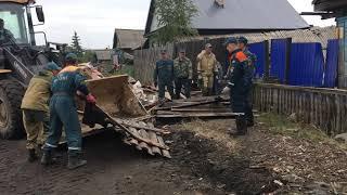 Аварийно восстановительные работы в Иркутской области продолжаются
