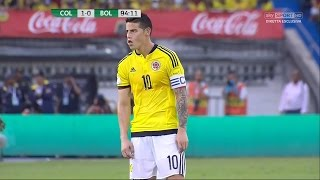 James Rodriguez vs Bolivia Home HD (23/03/2017) by JamesR10™