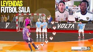FÚTBOL SALA con LEYENDAS !!! (FIFA 20)