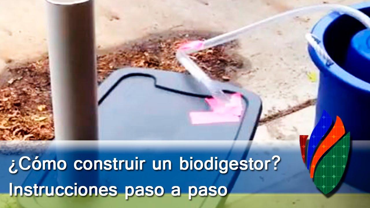 C mo construir un biodigestor paso a paso youtube - Como construir un zapatero ...