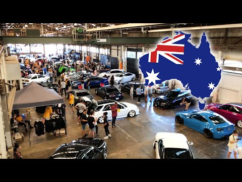 Filming My First Australian Car Show!