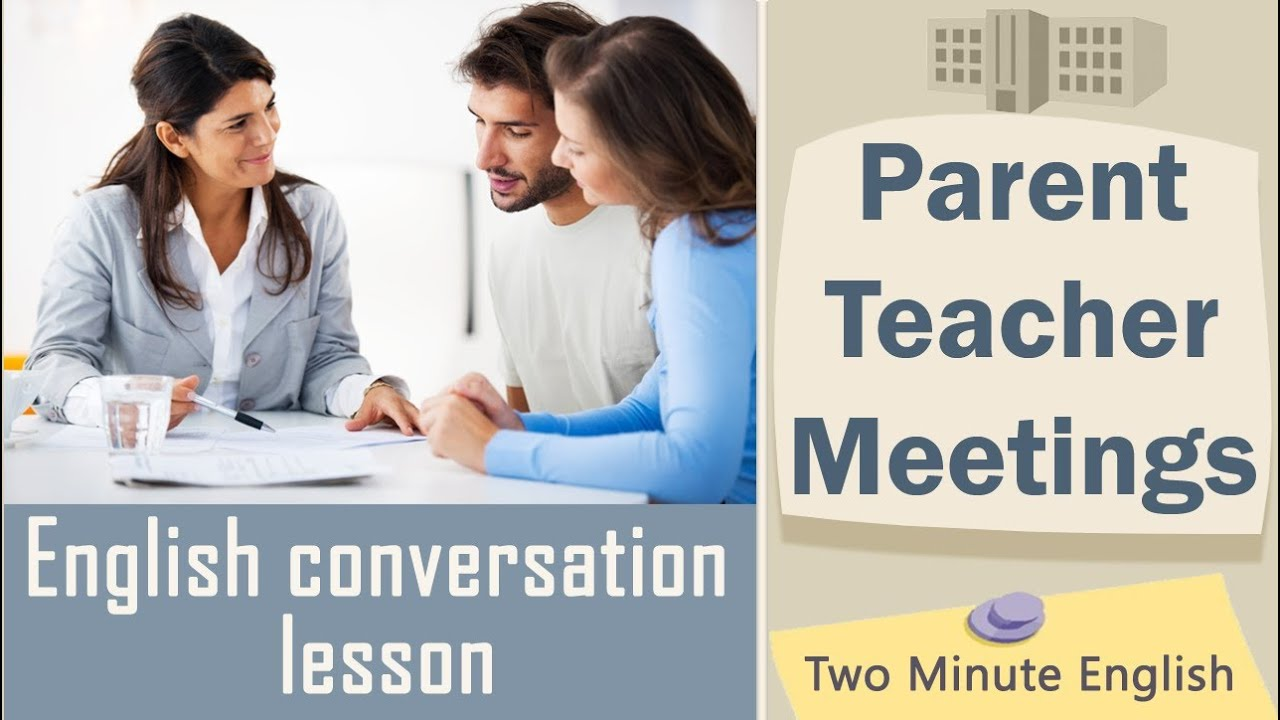 Parent Teacher Meetings - English Meeting Conversation