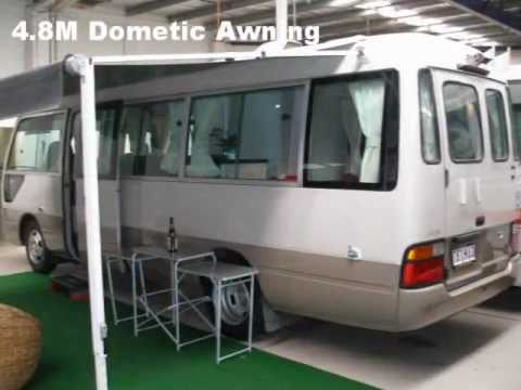 Excellent Toyota Coaster Motorhome Conversion  First Choice Motorhomes  RV
