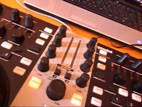 Funnyboy - Gemini CRTL SIX  - DJ CONTROLLER  - TESZT VIDEÓ 2012.03 HUN