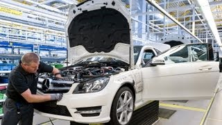 2013 Mercedes C Class Production Process