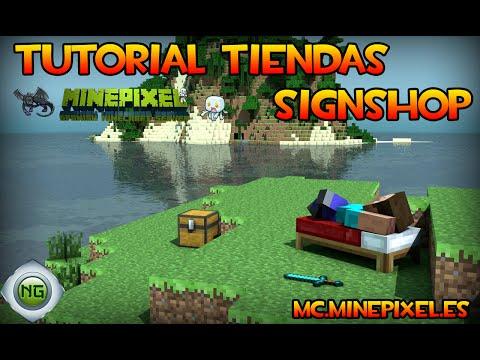Tutorial De Tiendas. Server mc.MinePixel.es