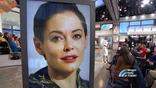 NBC TV News Reports on the Organized Stalking of Rose McGowan by Harvey Weinstein