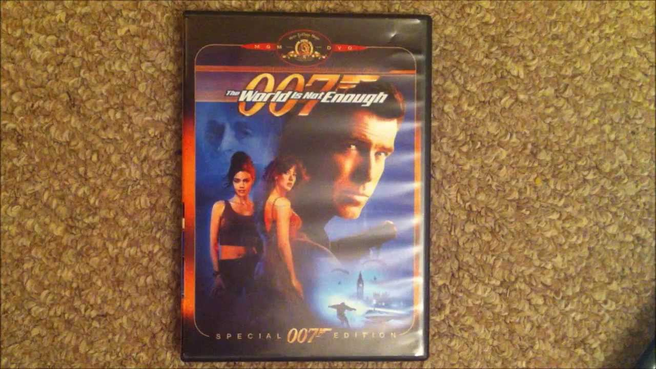 007 The World Is Not Enough Special Edition Dvd Review Youtube