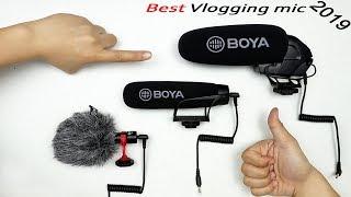 BEST Budget Vlogging microphones 2019 - Battle of the Boya Mics