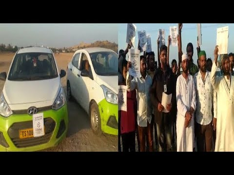 Ola And Uber Cab Drivers On Strike In Hyderabad | @ SACH NEWS |