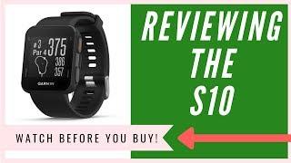 Garmin Approach S10 GPS Watch Review | An HONEST Opinion