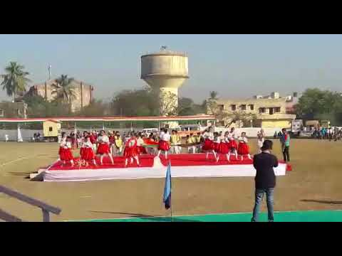 SSSE Students performing@ district level Republic day celebration 26/01/2018