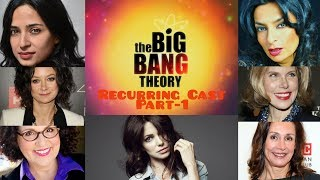 Recurring Female Cast | Real Life | The Big Bang Theory