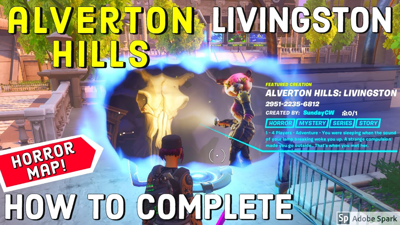 Fortnite Horror Map Codes July 2020 Creative Scary Maps Pro