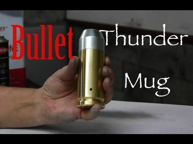 Atomic Bullet Thunder Mug Cannon -The Firearm Blog