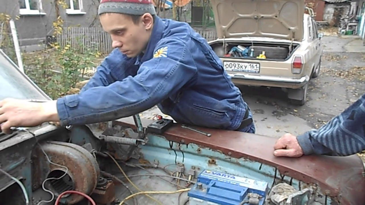Руль Газ - 21