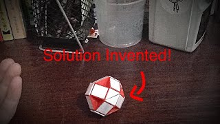 A Rubik's Snake Solution Invented by Me!