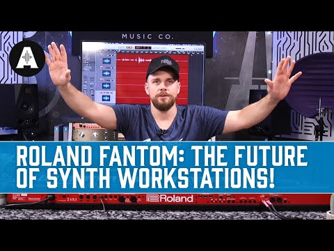 The New Roland Fantom - the Future of Synth Keyboard Workstations?