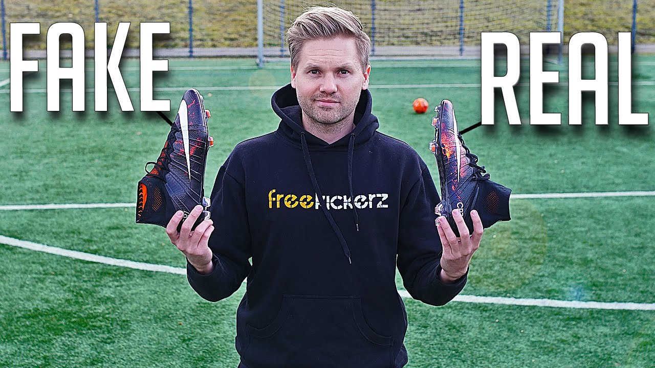 4502dde51bea FAKE vs REAL  Nike Mercurial Superfly CR7 IV - Test   Review - YouTube