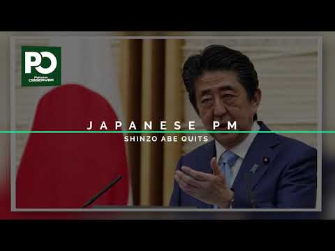 Japanese PM Shinzo Abe resigns | Pakistan Observer
