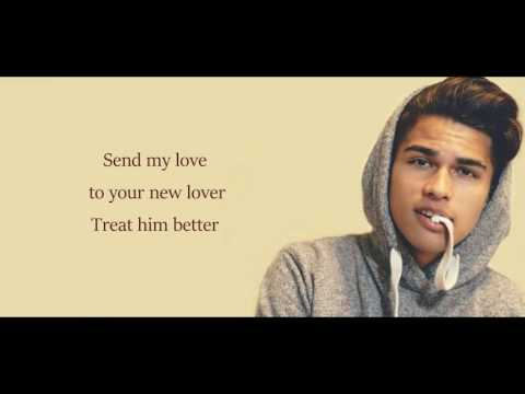 Adele - Send My Love (To Your New Lover)(Lyrics)(Alex Aiono Cover)