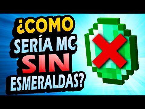 ¿Qué Pasaría si la Esmeralda NO Existiera en Minecraft?