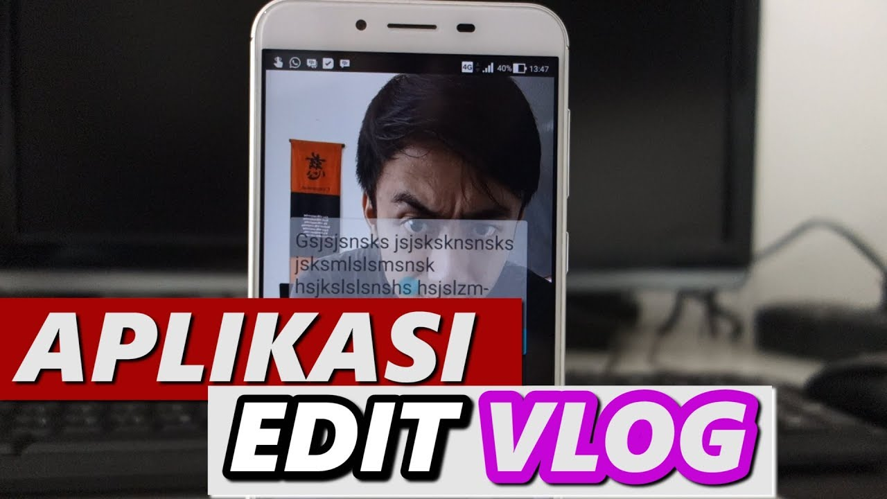 cara edit video vlog di hp