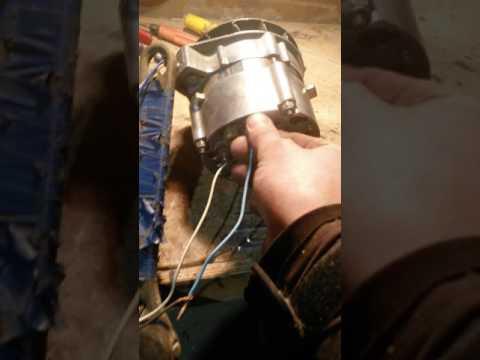 Проверка генератора ваз без мотора