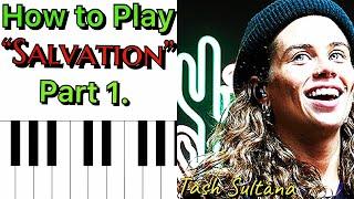 Salvation Tash Sultana Lesson - Part 1 (Piano/Guitar Series)