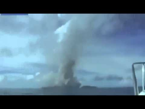 Underwater Volcano in Tonga Spews Ash Into the Air