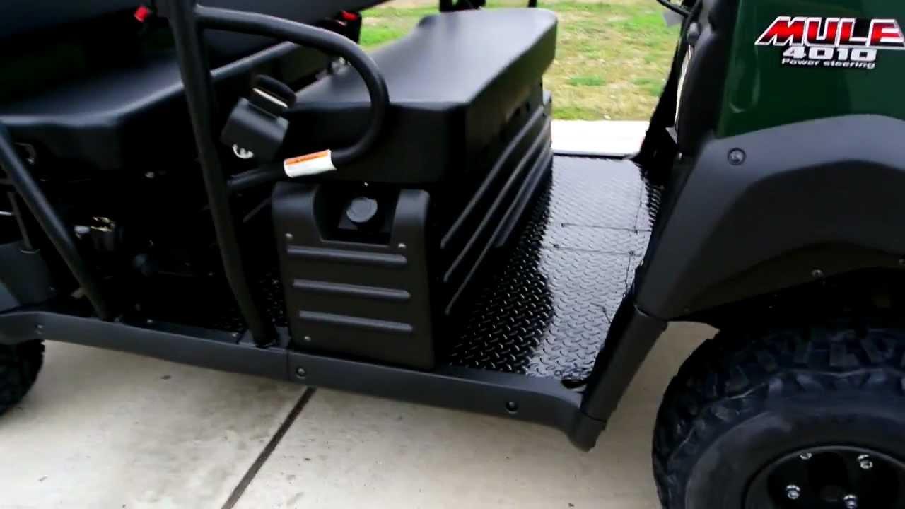 2012 Kawasaki Mule 4010 Trans 4x4 Woodsman Green Youtube Diesel Fuel Filter