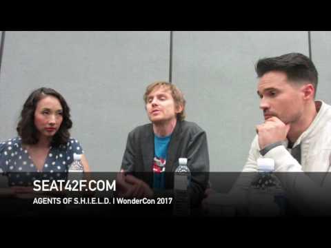 Agents Of SHIELD WonderCon 2017 Interview Maurissa Tancharoen, Jed Whedon, Brett Dalton