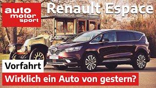 Renault Espace (2021): Kauft fast niemand, ist aber besser als ein SUV - Fahrbericht/Review   ams