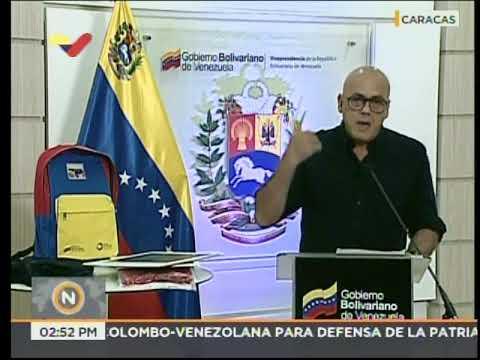 Jorge Rodríguez: Aviones traerán venezolanos desde Ecuador, Perú y Argentina