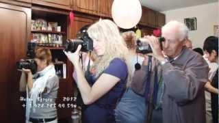 выход невесты и жениха из дома невесты  * Ростов на Дону