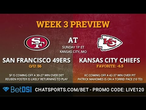 49ers vs. Chiefs Week 3 Preview: Odds, Key Players, & Prediction