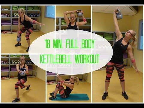 18 min. Full Body Kettlebell Workout