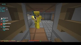 TRAPPING YOUTUBER GETS INVIS RAIDED... | Minecraft HCF