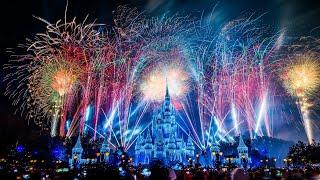 #disneyparkslive: Fantasy In The Sky - New Years Eve Fireworks 2020 | Walt Disney World