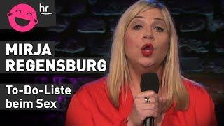 Mirja Regensburg kann beim Sex gut nachdenken