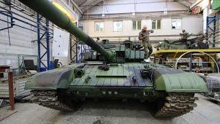 Oprava tanku T-72M4 CZ