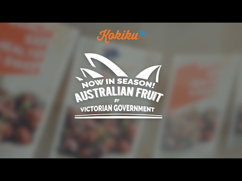 Event: Now! in Season Australia Fruit by Victorian Government