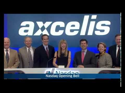 Axcelis Rings The Opening Bell At NASDAQ on October 4, 2016.