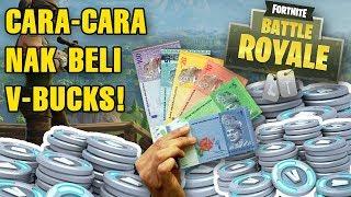 COMMENT ACHETER V-BUCKS EN FORTNITE! Malaisien