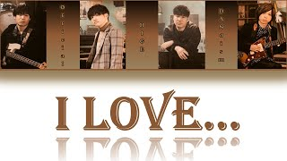 Official髭男dism (Official HIGE DANdism) - I LOVE... Lyrics Video  [JP/ROM/ENG]
