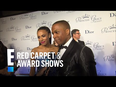 Leslie Odom Jr. and Wife on Expecting Baby No. 1  E! Live from the Red Carpet