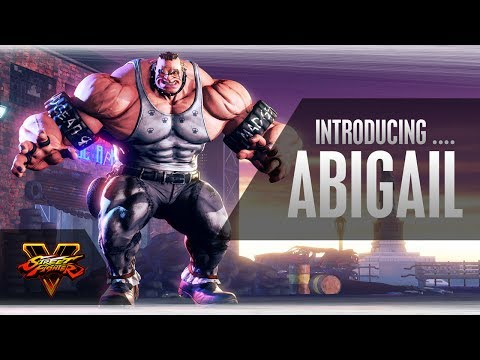SFV: Character Introduction Series - Abigail